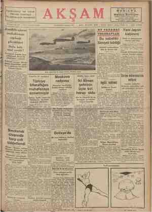 Anadolu ajansı — Sene 23 — wo, 8171 — Fiati her yörde 5 kuruş muhabirinin cephede gördükleri Stalin hattı nasıl yarıldı?
