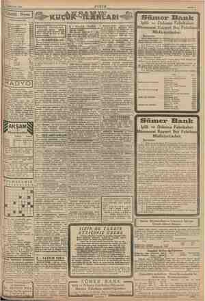 1941 Sahife 7 Gü .. nlük Borsa Süm 31 Birinciteşrin 1941 er e : Iplik ve Dokuma Kayseri Bez Müdüriyetinden : Şartnam.