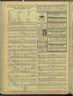 Sahife 4 AKŞAM 18 Haziran 1943 | İSTANBUL DEFTERDALIĞI İLANLARI Gemi Satış ilânı Mükellefin adı: İsak Bahar Çankaya adlı