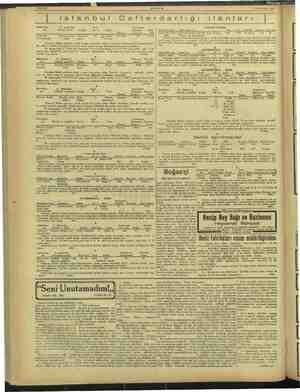 i Sahife 6 — — AKŞAM 19 Haziran 1943 istanbul Defterdarlığı tanları nr Mükellefin G. menkulün Kaj Tamamının SATILIK KOTRA 1