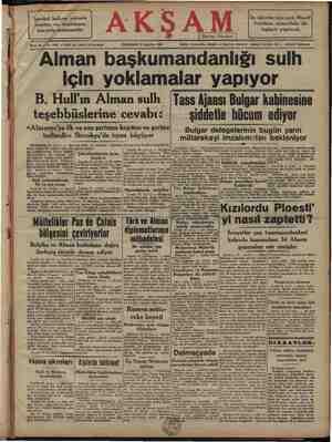 İstanbul halkına yakında yeniden un dağıtılması kuvvetle muhtemeldir AKŞ Bene 26 — No. 9293 — Fiati her yerde 10 kuruştur...