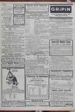 Sahife 4 AKŞAM 12 Mart 1945 —— aş YENİ YAYIN rez GO mlekiş ag YÜRÜYÜŞ Mecmuasının Bu sayıda Milli Şet İnönünün © Fakültesini