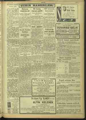 26 Ekim 1945 AKŞAMDAN AKŞAMA Sahtekâr ressam ŞEHİR HABERLERİ | Hiç bir sabtekârın eli öpük mez, bu?,.. Bu i Kü sal 7 kel