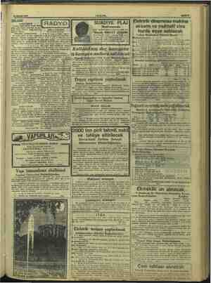 —.. m RR .msııcınm 24 Haziran 1947 ZEŞAM İ BE 7 > Beray SİJADIYE, PLAJ) Elektrik'dinamosu'maki YENİ YAYIN vs LİRA DYOJİ...