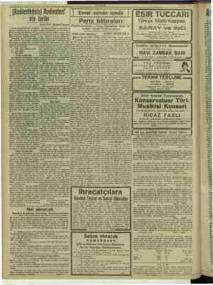 """Danariramar , (Radiesthösie) Radiestezi nin tarihi """"AKŞAM 18 Eylül 1917   Evvel zaman içinde ESİR TUCCARI Paris hâtıraları"""