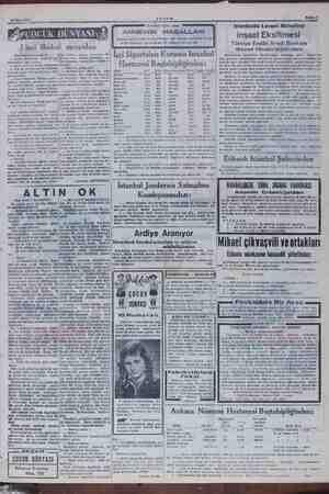 """2 ? """" 16 Mart 1949 AKŞAM Sahife 7 'ocuklara faydı ANNEMİN MASALLARI e çocuk yazarı (Maud Lindssay) dan alld Yaşaroğlu. Tanesi"""