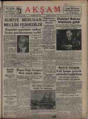 Avrupadan yeni gelen Yeşi ! Bursa'da Güven Oteli Telefon: 1149, Telgraf: Si Otel #ene $1 — No. 10946 — Flati y tur 1949...
