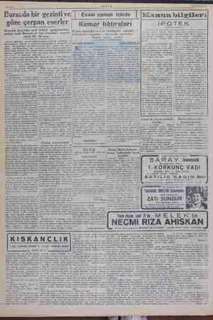 A MZ——11 Yİ AKSAM 12 Mayıs 1949 — Şim di, , sizlere zulüm eser- lerimi sim. Uludağ sanatoryumu daya edilmekte olan. 200 nün