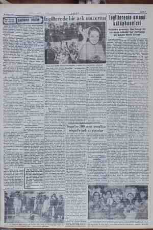 —ş—ş.rrrrrrrr 21 Ekim 1949 AKŞAM p HER AKŞAM İÜ GİNGENENİN mam Yingilterede bir a ask macerası Bafife 7   ri umumi A BIR...