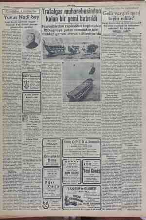 24 Aralık 1949 Sahife 4 ( Gazeteler, Gazeteciler Yunus Nadi bey Nadi beyin talebelik hayatı — Izmirde Vali Kâmil paşaya...
