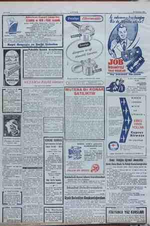 "20 Temmuz 1951 Sahife 9 CENOVA, ir"" — in PİRİ 18000 tonluk 1. KE N, ni ni tafsilât atta AMERİCAN Hayri a ile için tercih"