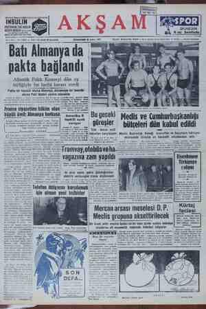 DAti Ailllaliya Ud pakta bağlandı Atlaâk Paktı Konseyi dün oy birliğiyle bu tarihi kararı verdi Pakta bir tecavüz olursa Almanya, Almanyaya bir tecavüz olursa Pakt üyeleri yardım edecekler büyük âmil: Almanya korkusu