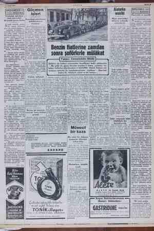 k AKS Sahife 8 27 Şubat 1952 Tecavüze uğrama- mak için erkek kılığında gezen kadın Ki içük haberler arasın- da, yüreğe...