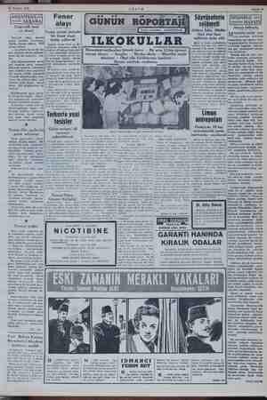 NN Yö Hazlran 1952 Çıngıraklı saat ve davul Fener - alayı Süyrüseferin selâmeti Altıncı gen mem Cuma gecesi Sa üğü Meat...