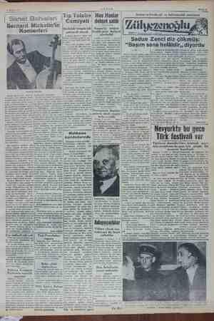 4 Aralık 1952 AKŞAM Mp Mau Maular leri li Sanat Bahisleri | cemiyeti | dehşet saldı Michelin'in — — Göğü Konserleri çekişmeli