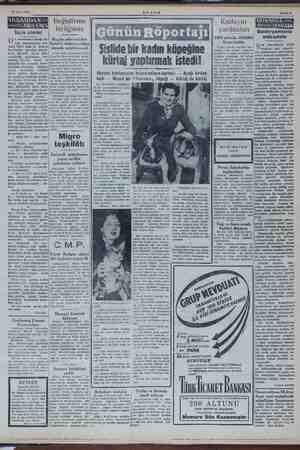 20 Mart 1954 Seçim cilveleri kuzuncu asırda İn- n dol Değiştirme birliğimiz di Bugün şehrimizden me: eli 5 inci Kore...