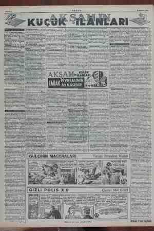 Sahife € AKŞAM KU çük Am 18 Haziran 1954 KIZILTOPRAK REKOR — alım salım ve nişaat bürosu zl ifraz beğ malze: Emlâi ya KÂR BIR