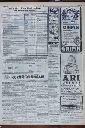 """Sahile 15 Eylül 1954 AKŞAM . - . Maarif Vekâletinden PURO METODU as Mekteplere —. gönderilecek """" . A. Enstitüsü hesal..."""
