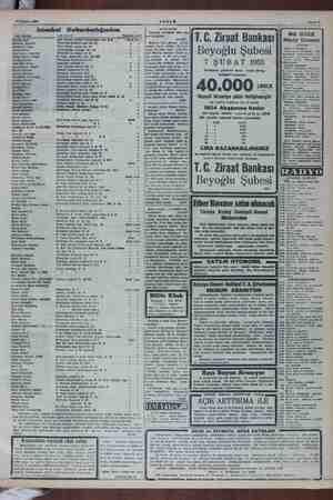 """21 Kasım 1954 Isianbul Defterdarlığından AKŞAM Sahile 7 SATIŞ İLÂNI İstanbul Dördüncü İcra """"Me- murluğundan: 1 Aralık 54"""