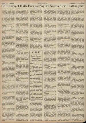 — müstakil — başkanı). — Başı 1 İnci yüzde — Küzim Özalp ( B. M. Meeclisi baskanı ), 6 Mehmed Cavid Demir (Eski...