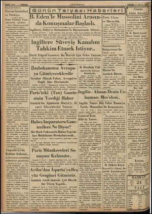li Sahite — 2 MNN Komıı; Devletlerde: Yunan Gazeteleri ve Türkiye e L Pazar Tatilinin Yuna- nistan'da Akisleri Kralcı...