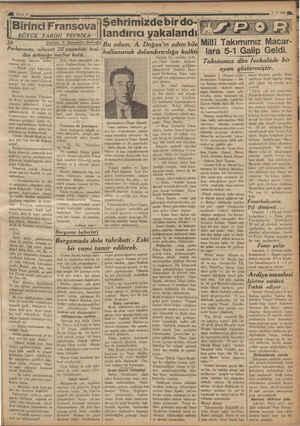 29 Birinci Fransova BÜYÜK TARİHİ TEFRİKA Çıvlnıı Pa Parlamento, nihayet 22 yaşındaki kral- dan ürkmeğe mecbur kaldı.....