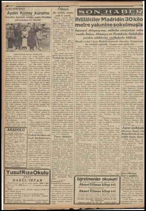 | ! ; | . L İ yp 1200, Aydın mektupları: Aydın Kızılay kurumu Ortaklar köyünde etüdler yaptı. Ortaklar çok çalıskan bir...