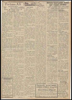 AA 051 11336 Fırtına Ali X——;—g .20. Yazan : Büyük Korsan Romani M. Ayhan, Faik Şemseddin Fırtına Ali Papasın ktzına aşk...
