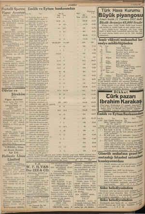 """Sayfa 8 Fratelli Sperco  Emlâk ve Eytam bankasından Vapur Acentası ROYAL NEERLANDAIS KUMPANYASI """"TRİTON,, vapuru 9 Tem-..."""