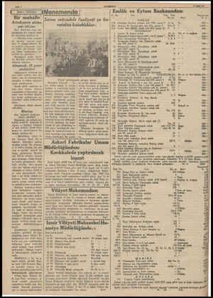 ANADOLU' 19 Bylat 987 Emlâk ve Eytam Bankasından: C. No. Yeri Eski Yeni Sayfa 6 n Siekleri NMenemende: Bir mahalle...
