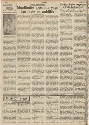 e B Amerikada aşk bi— zünden bir cinayet Maktul Katil kadına 187 tane mektup yazmış Nevyorkta evelki salı gecesi Val Strit