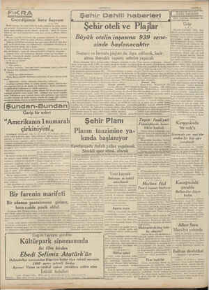 B ee Ti K 26 İkincilesrin Cumartesi 1938 ——— G . d Ka < y k b eçirdiğimiz ara bayram 5 Sâdi içbir bayram, bu kadar yaslı,