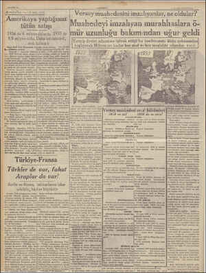 ÇANADOLU, 9 Temitlüz 1939 PAZAK Versay muahedesini imzalıyanlar, ne oldular? (SAHİFE 8 ) a ttelbeldir di LA Ameriha...