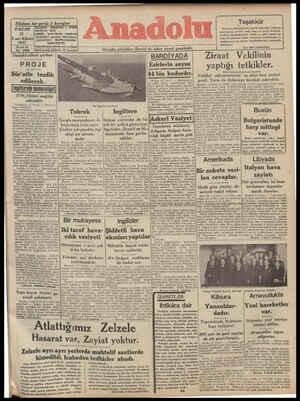 Nüshası her yerde 5 kuruştur âîh ANADOLU — İZMİR PAZAR 12 .nci Kânun 1941 30 ncu yıl No, 8408 Demokrasilere yardım: ETLEE -- 