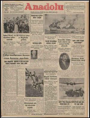 F Nüshası her yerde 5 kuruştur ? 1941 FUARİI A TELGRAF: ANALOLU — İZMİR -a p. 5 HM A TZMİ: - ; Füarın açılmasına az bir zaman