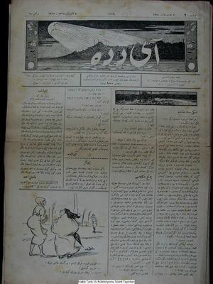 Aydede Gazetesi 5 Ocak 1922 kapağı
