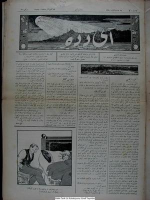 Aydede Gazetesi 23 Ocak 1922 kapağı