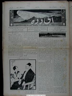Aydede Gazetesi 6 Şubat 1922 kapağı