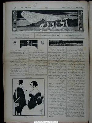 Aydede Gazetesi 10 Şubat 1922 kapağı
