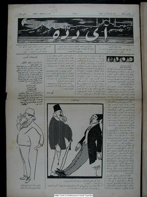 Aydede Gazetesi 16 Şubat 1922 kapağı