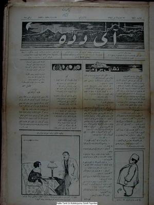 Aydede Gazetesi 27 Şubat 1922 kapağı