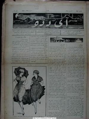 Aydede Gazetesi 2 Mart 1922 kapağı