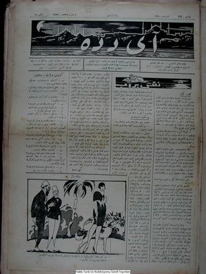 Aydede Gazetesi 5 Mart 1922 kapağı