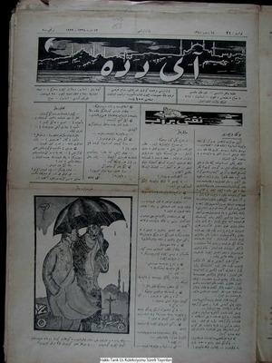 Aydede Gazetesi 12 Mart 1922 kapağı
