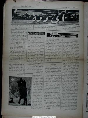 Aydede Gazetesi 19 Mart 1922 kapağı