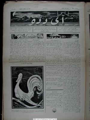 Aydede Gazetesi 26 Mart 1922 kapağı