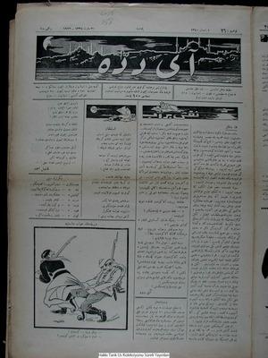 Aydede Gazetesi 30 Mart 1922 kapağı
