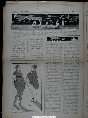 Aydede Gazetesi 2 Nisan 1922 kapağı