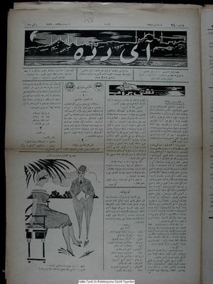 Aydede Gazetesi 6 Nisan 1922 kapağı
