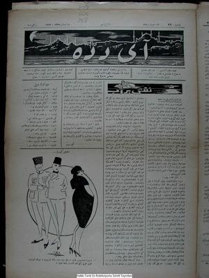 Aydede Gazetesi 9 Nisan 1922 kapağı